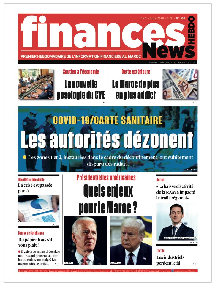 Finances News Hebdo numéro 998