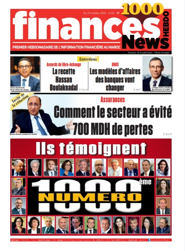 Finances News Hebdo numéro 1000
