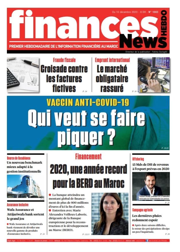 Finances News Hebdo numéro 1003