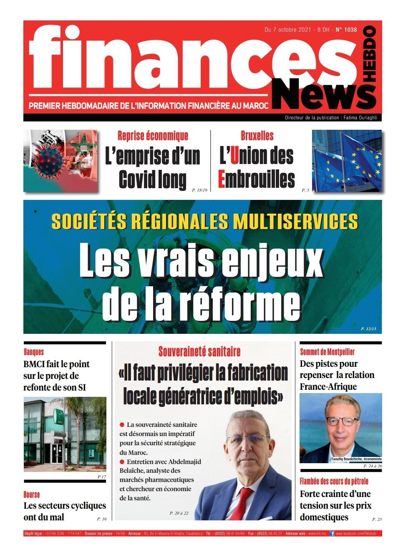Finances News Hebdo numéro 1038