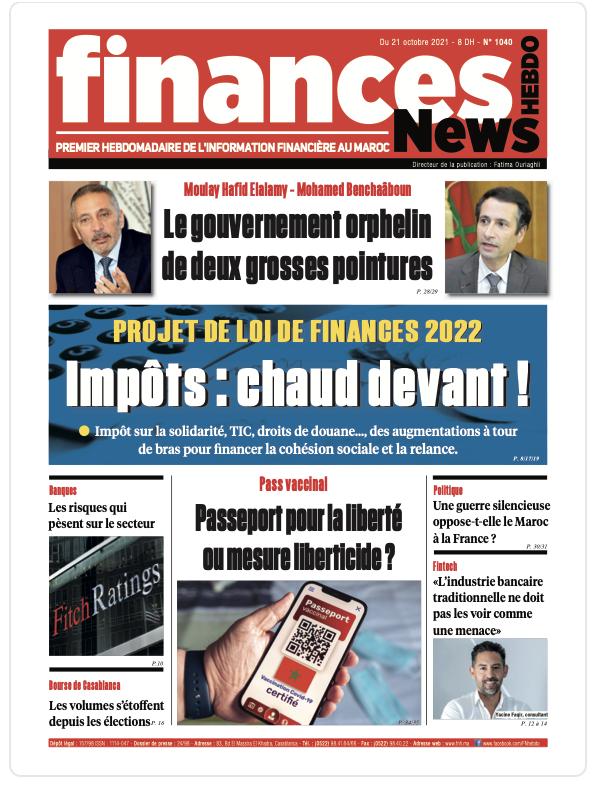 Finances News Hebdo numéro 1040