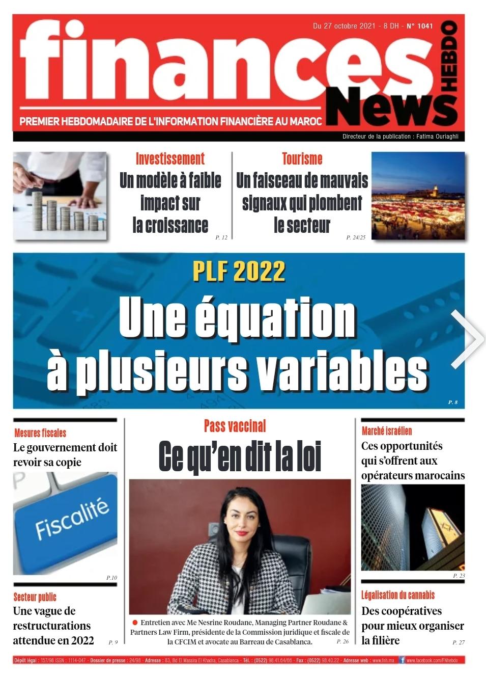 Finances News Hebdo numéro 1041