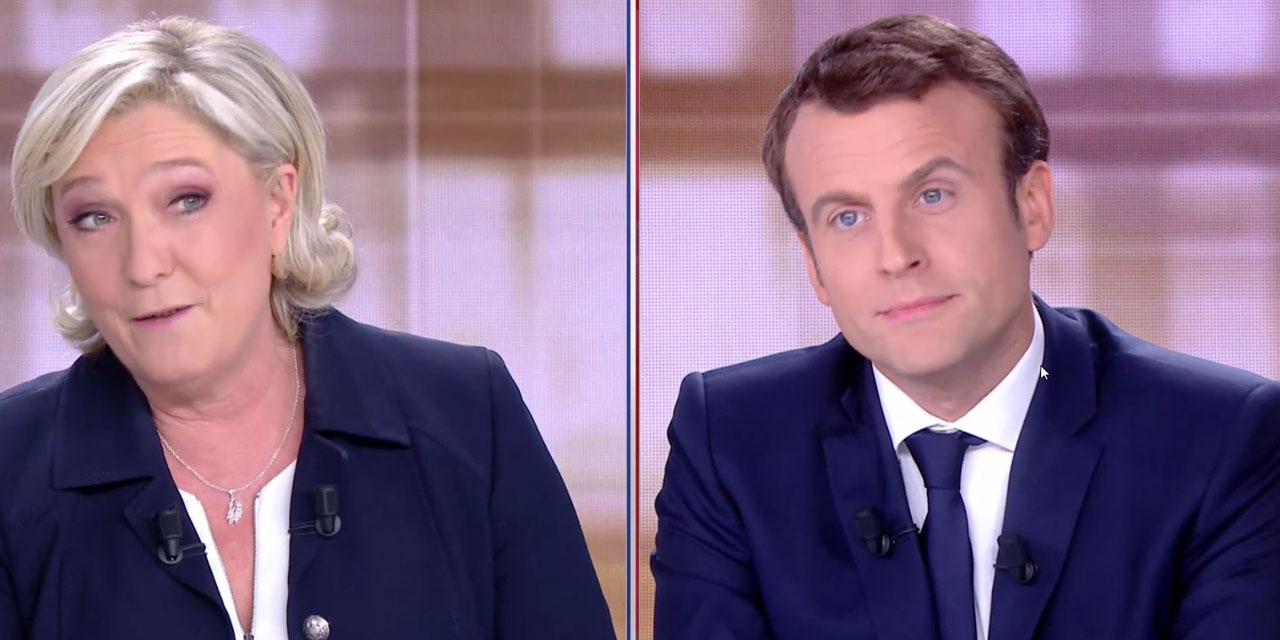 FRANCE 2017 : Macron donné vainqueur d'un débat houleux avec Le Pen