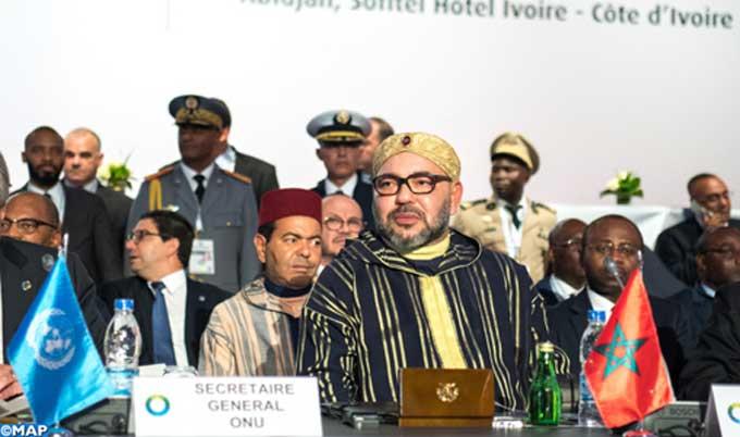 Le Roi plaide à Abidjan pour un «véritable agenda africain» sur la migration