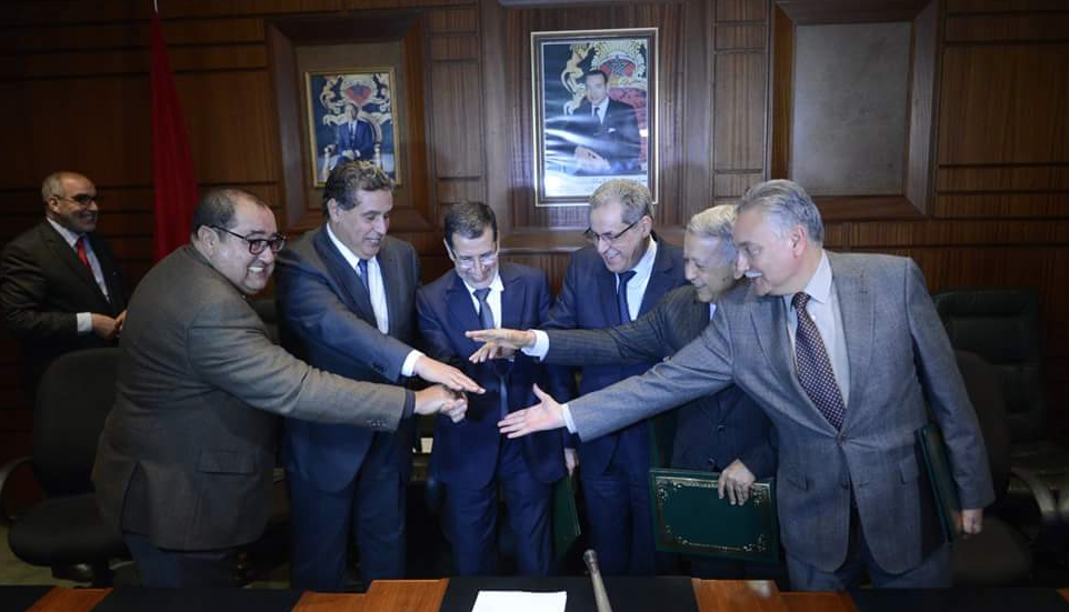 Les partis de la coalition gouvernementale signent la Charte de la majorité