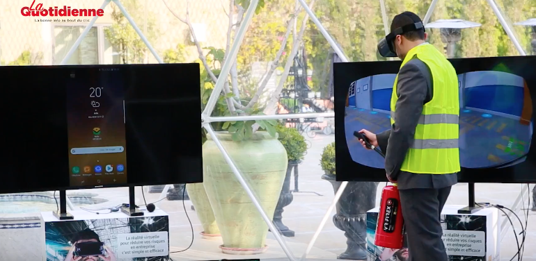 Wafa Assurance lance un système de réalité virtuelle d'extinction d'incendie (vidéo)