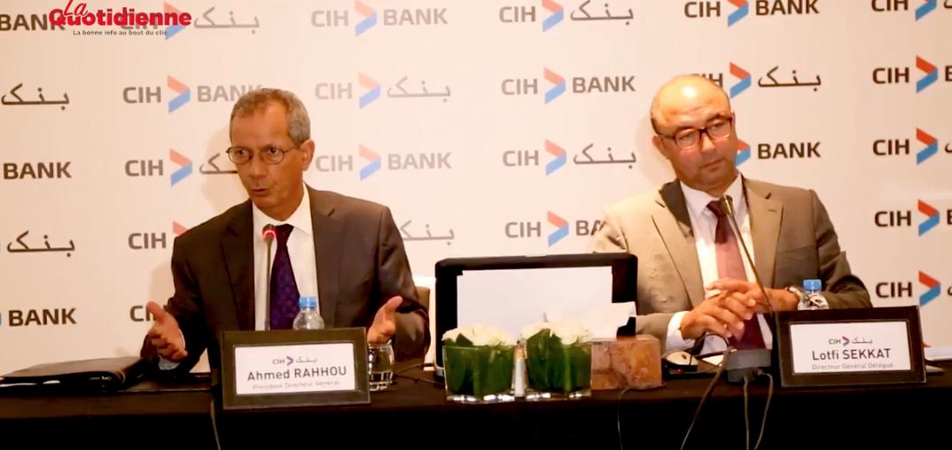 Ahmed Rahhou commente les bons résultats semestriels de CIH Bank