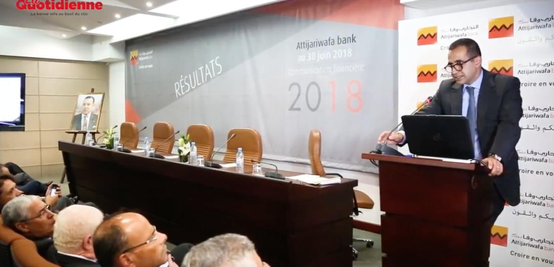 Attijariwafa bank présente ses résultats au S1-2018