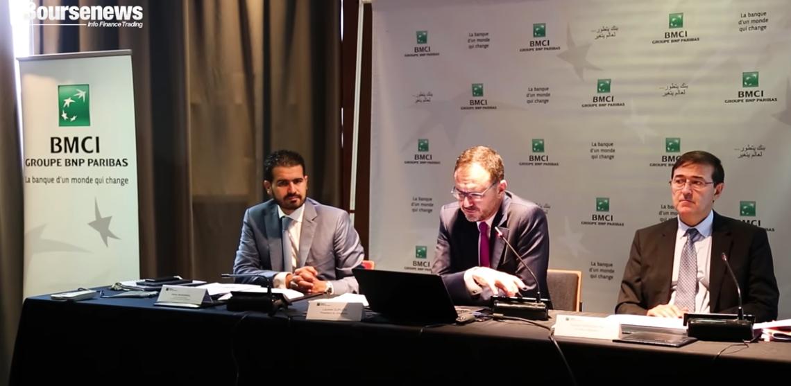 BMCI : Présentation des résultats du premier semestre 2018 (vidéo)