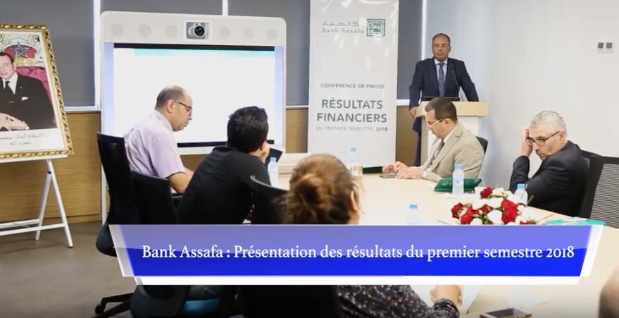Bank Assafa présente ses résultats semestriels (Vidéo)