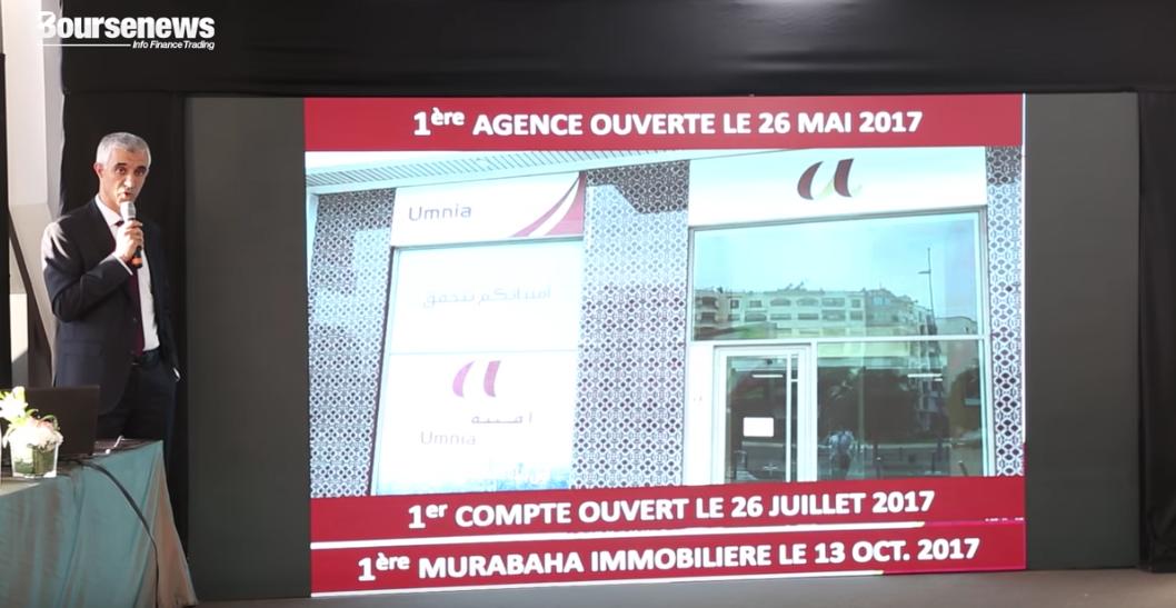 Vidéo - Umnia Bank: Résultats 1er Semestre 2018