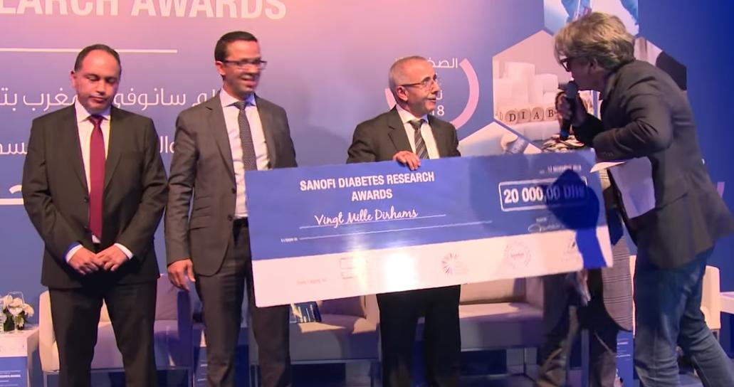 Vidéo - Sanofi: Prix de Recherche en Diabète 2018
