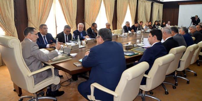 Actualité Politique Marocaine - Réunion du Conseil de gouvernement