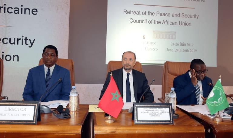 Politique - 12éme retraite du Conseil de Paix et de Sécurité de l'UA