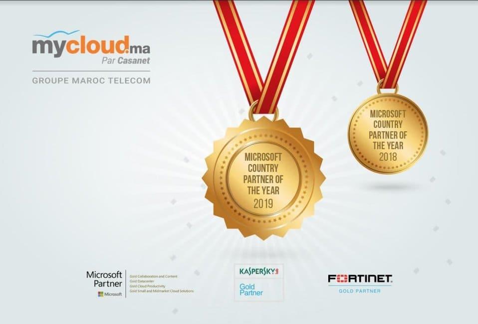 Actualité Entreprises Maroc - Mycloud.ma récompensé par Microsoft
