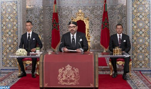 Discours Royal : Nouvelle étape commence pour le Maroc