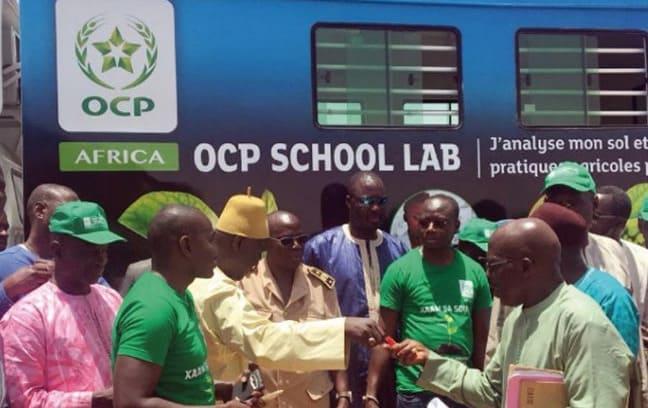Déploiement au Ghana de l'«OCP School Lab» - Infos Entreprises Maroc