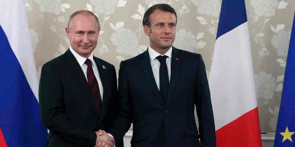 Macron reçoit Poutine avant le sommet du G7 - Actualité Politique