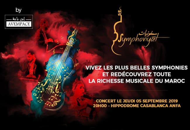 Symphonyat en concert à Casablanca en Sept - Actualité Culturelle