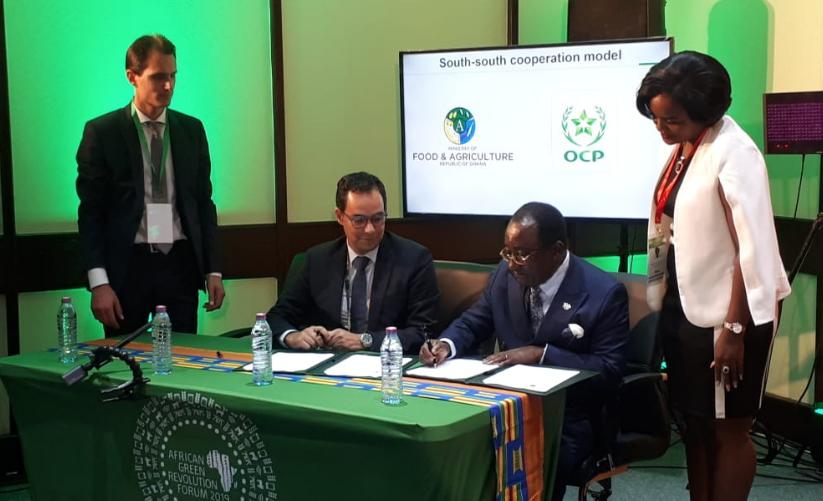 Fertilisants : L'OCP renforce sa coopération avec le Ghana