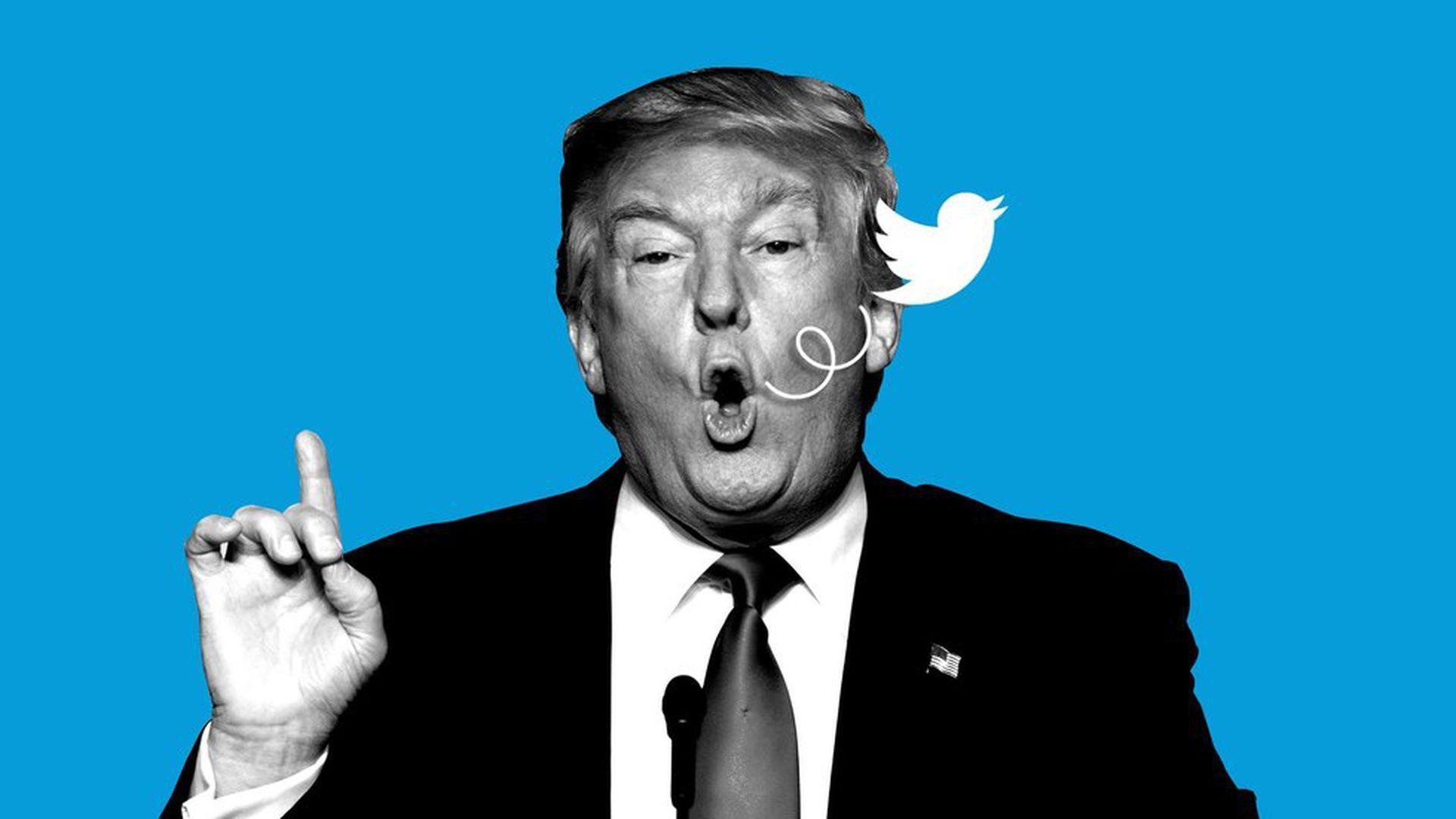 """JP Morgan crée l'indice """"Volfefe"""" pour mesurer l'impact des tweets de Trump"""