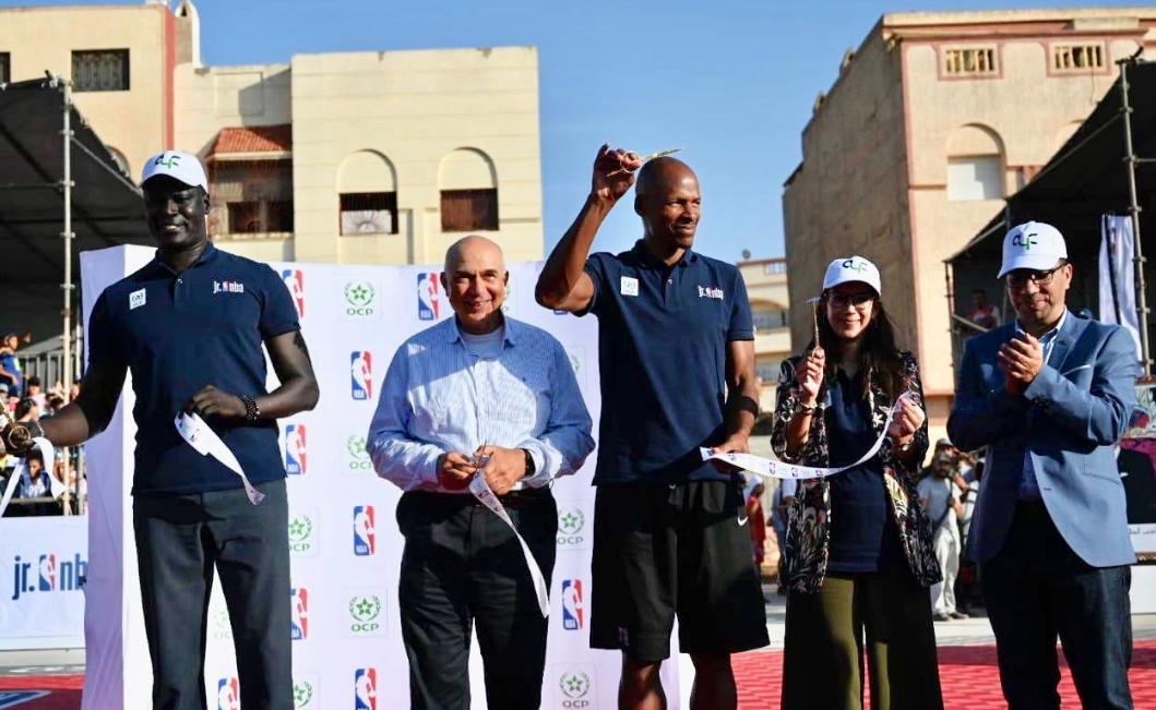Le Groupe OCP et la NBA s'allient pour développer le programme NBA Jr au Maroc et au Rwanda