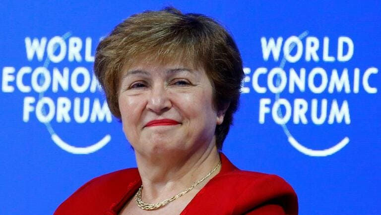 Kristalina Georgieva seule candidate à la direction du FMI