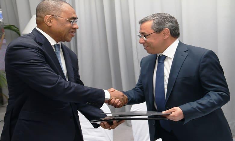 Entretien entre PDG de la BCP et le ministre ivoirien de l'Economie
