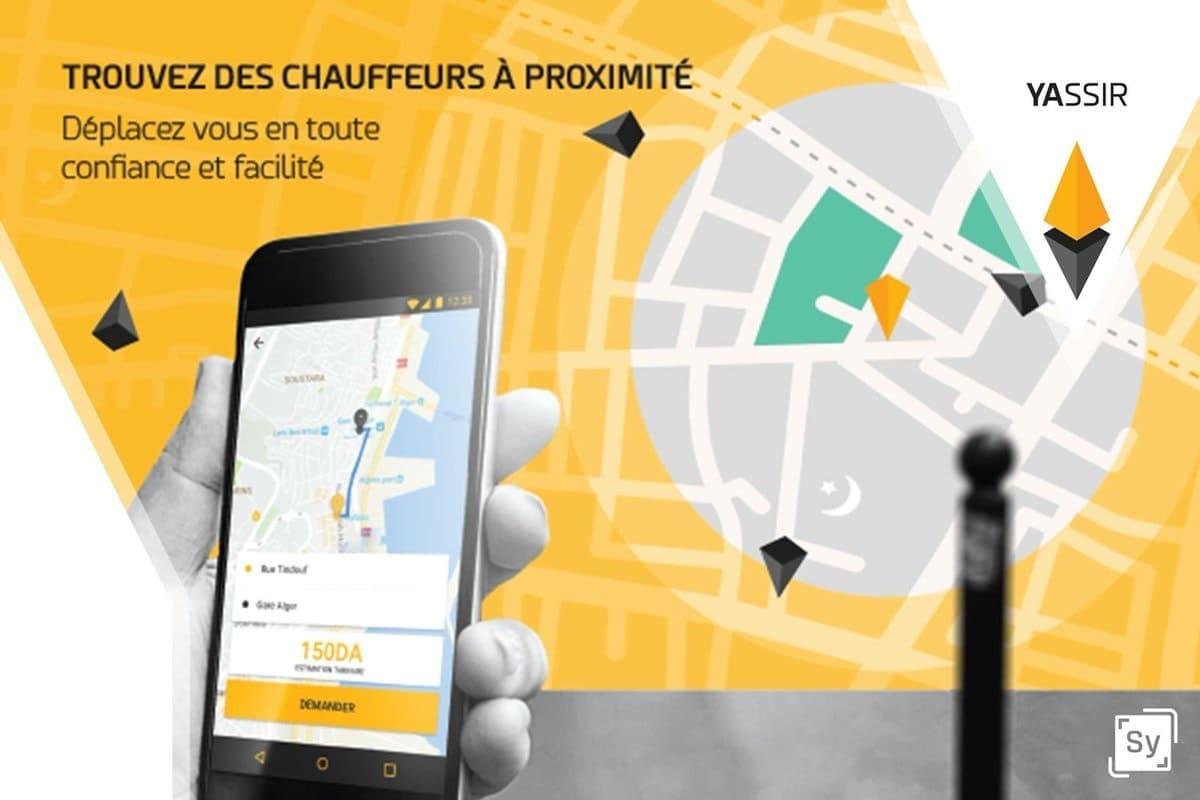 Casablanca: lancement de l'application «Yassir» de réservation de taxi