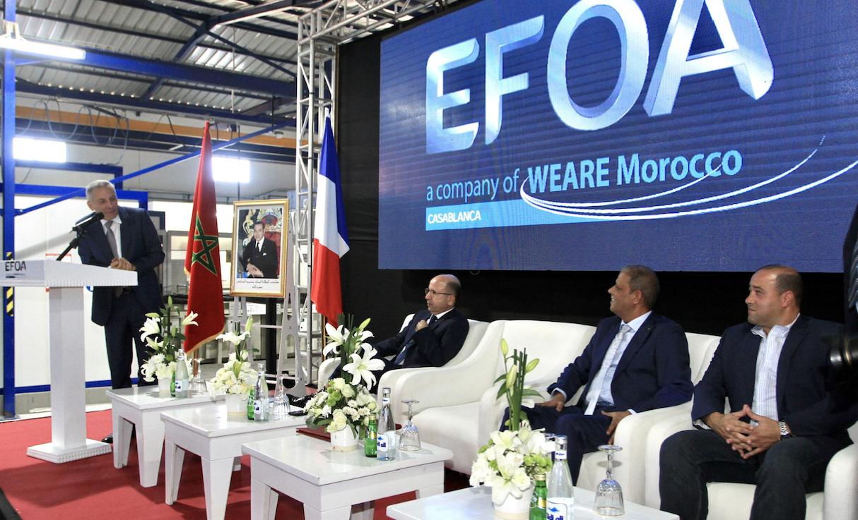 Aéronautique : 2 sites industriels inaugurés à Casablanca