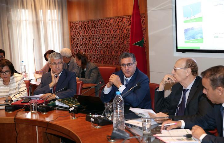 Akhannouch expose en Commission le budget sectoriel de son département pour l'année 2020