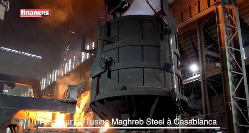 Vidéo : Au cœur de l'usine Maghreb Steel à Casablanca
