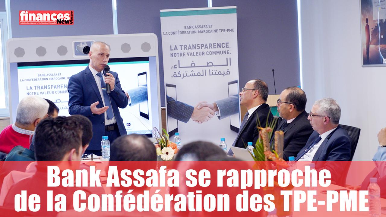 Bank Assafa se rapproche de la Confédération des TPE-PME