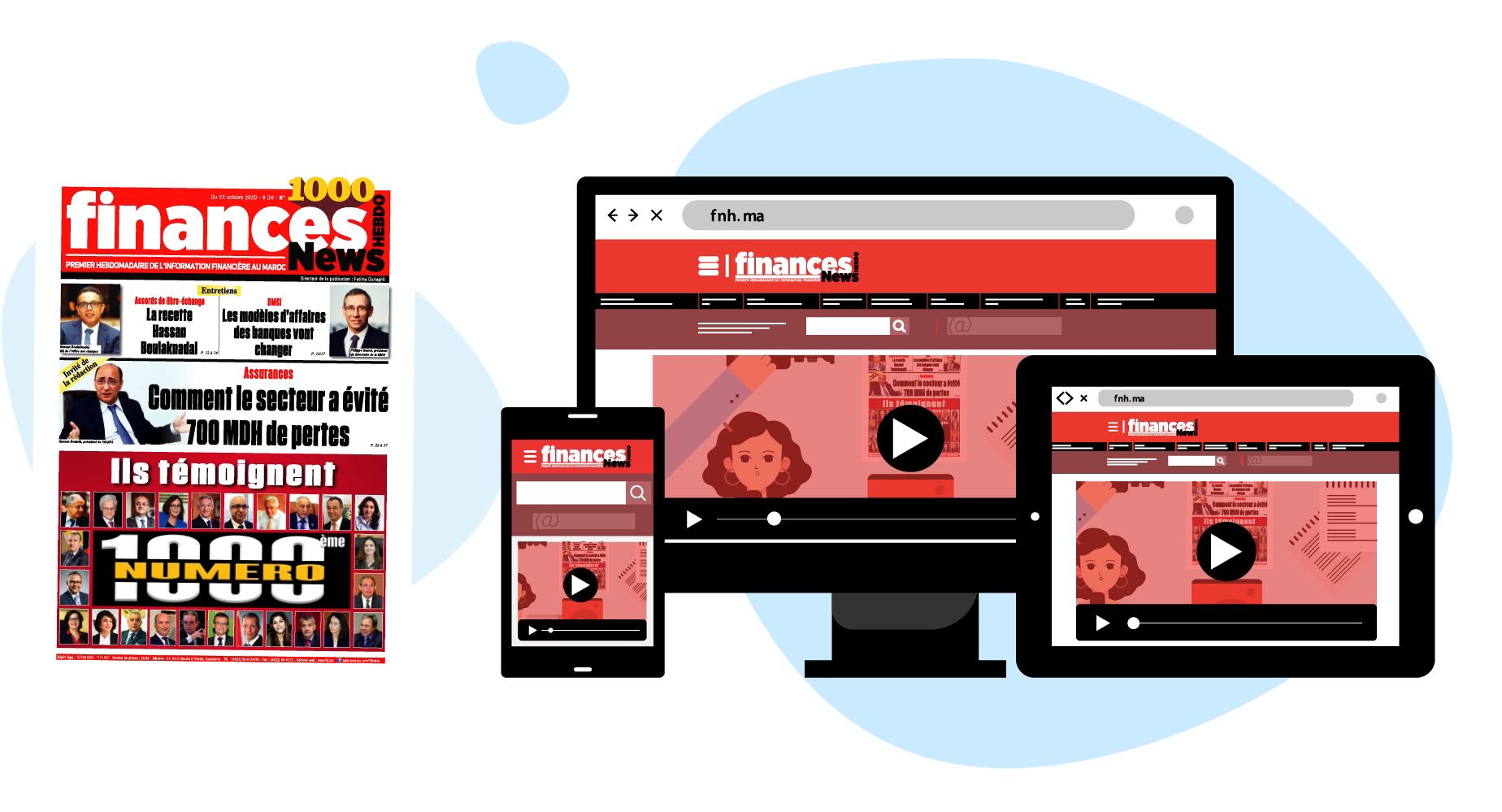 Finances News Hebdo fête son numéro 1000 !