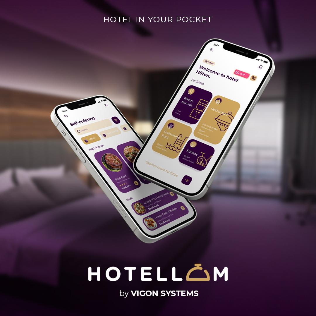 Digitalisation en Hôtellerie: VIGON Systems lance l'application HOTELLOM