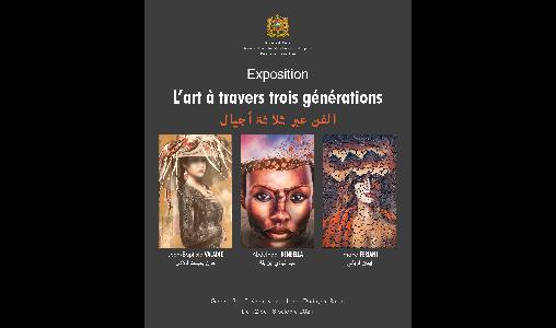 Exposition : l'art à travers trois générations