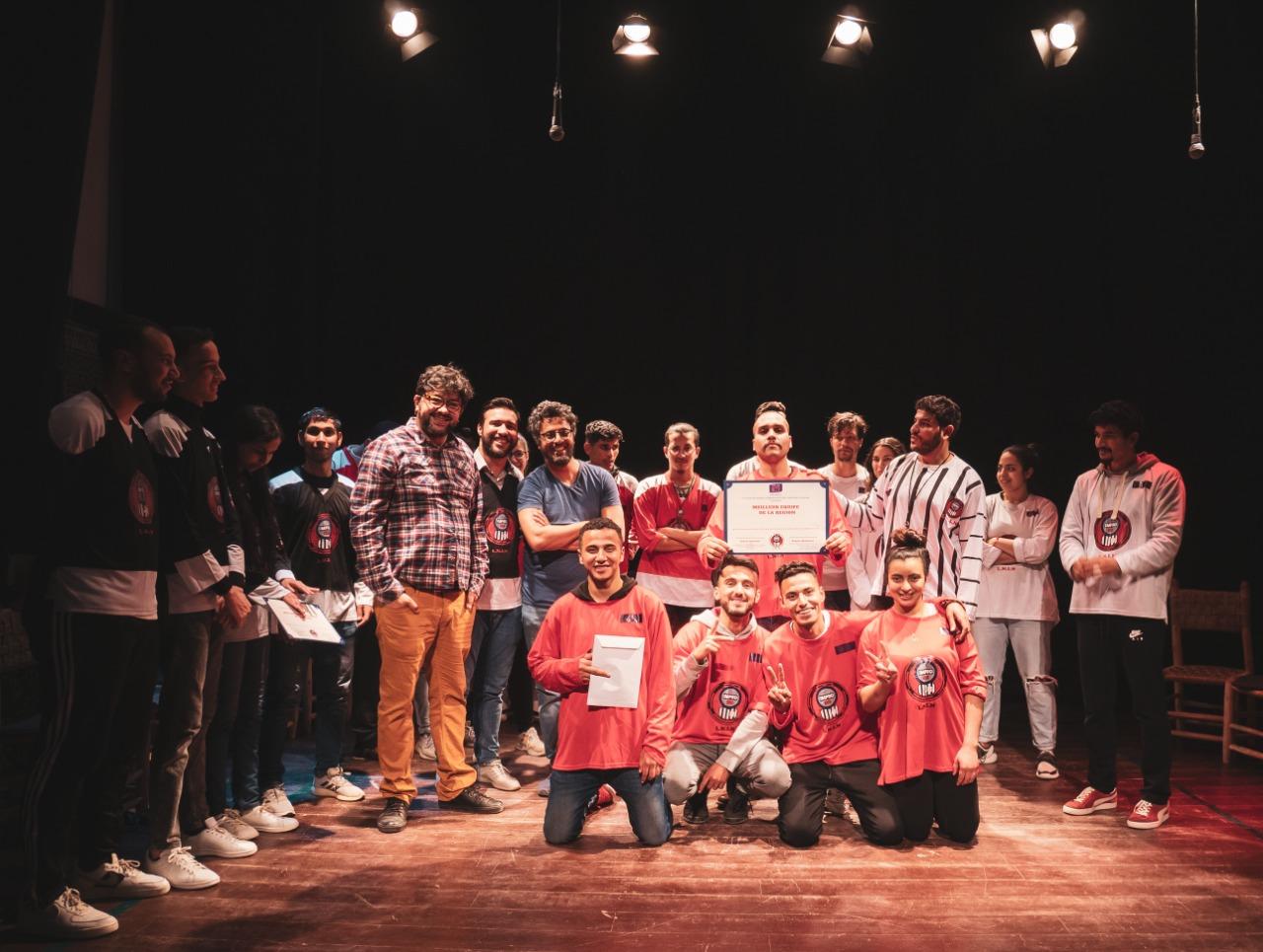 Théâtre: Nojoum donne rendez-vous pour la finale de la Ligue nationale d'improvisation théâtrale